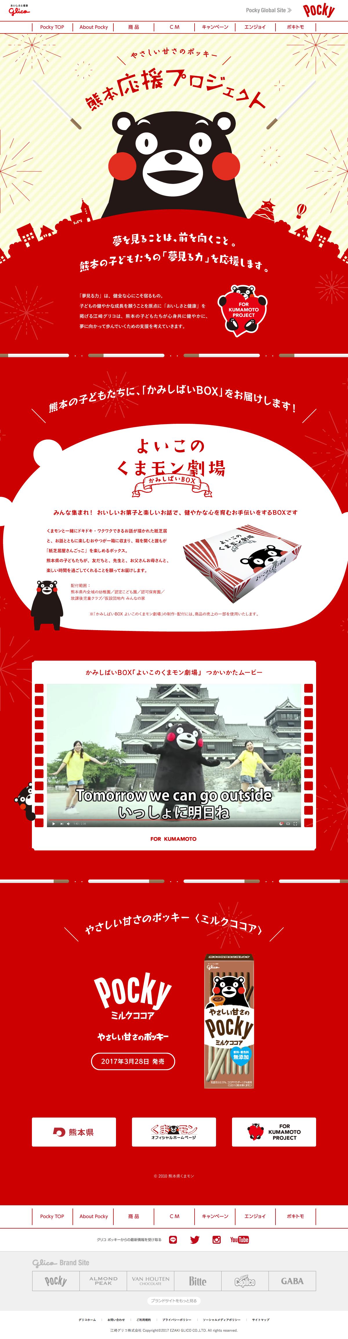 熊本応援プロジェクトPC画像