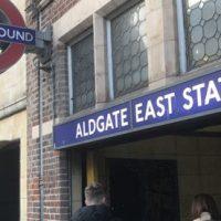 ロンドン地下鉄のフォント